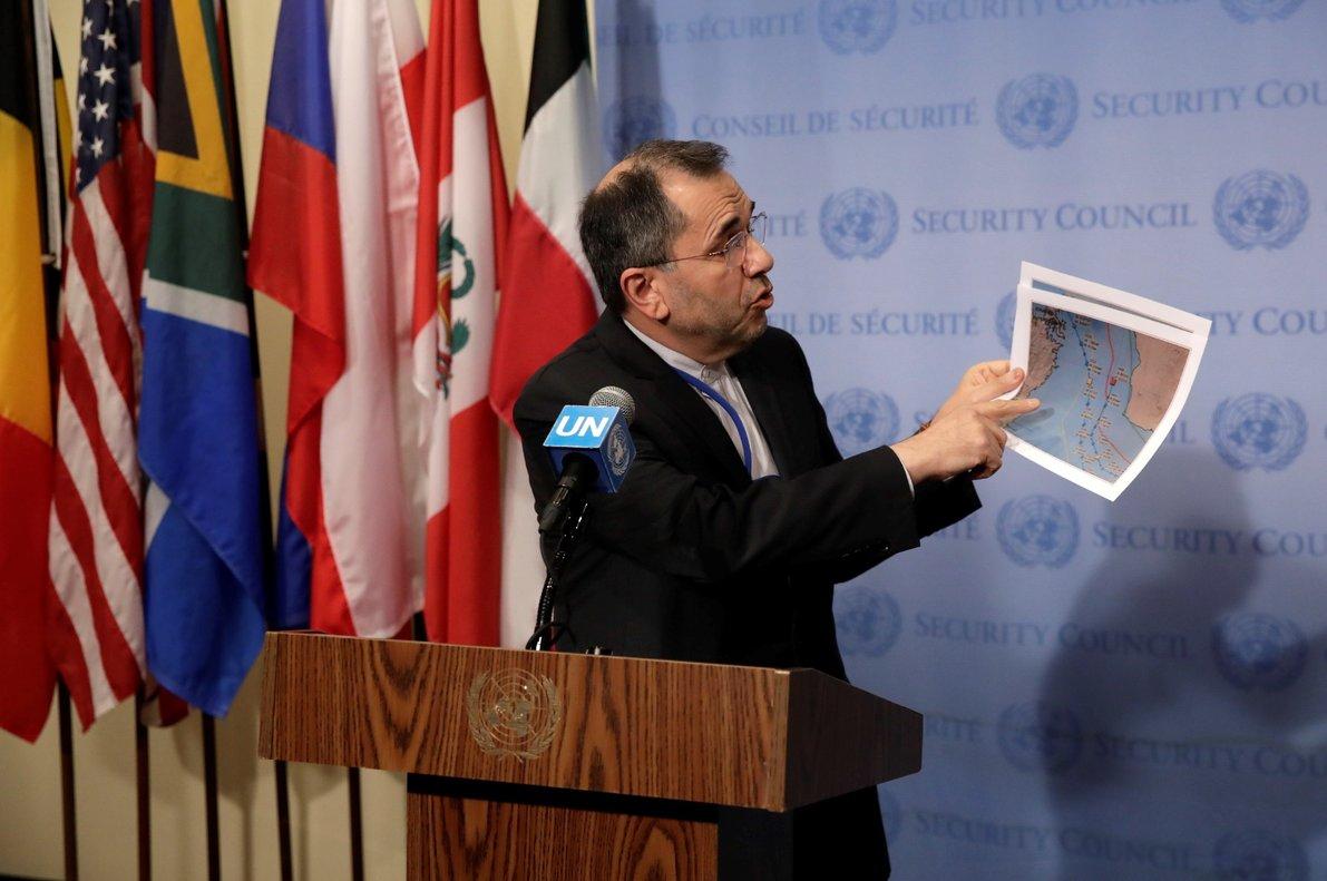 El embajador de Irán ante las Naciones Unidas,Majid Takht-Ravanchi. EFE