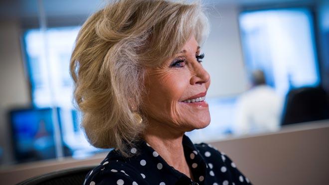 Jane Fonda: No hay lucha más importante que la del cambio climático.