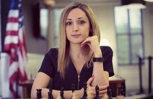 La ajedrecista NaziPaikidze-Barnes.