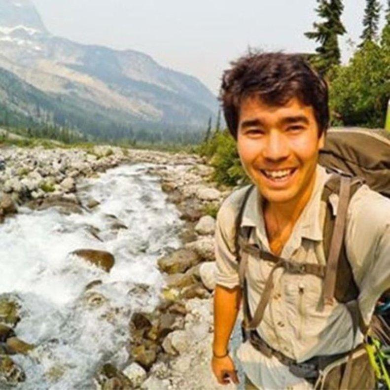 John Chau, de 27 años, en una de sus últimas fotografías.