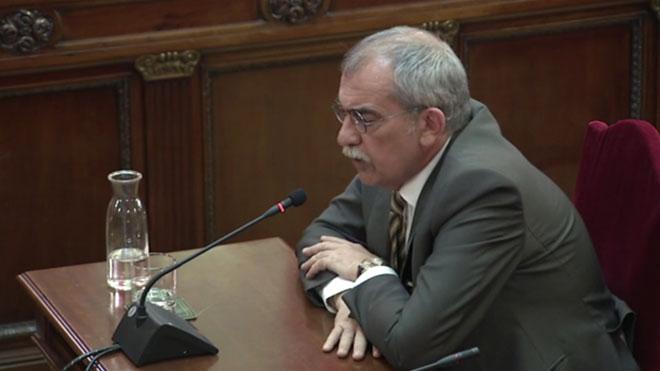 Juicio del procés. Pau Villòria: Vila me explicó que Puigdemont decía que el 1-O se pagaría con aportaciones de particulares.