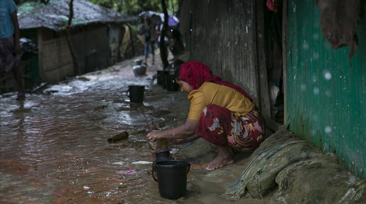 Una joven en Bangladesh