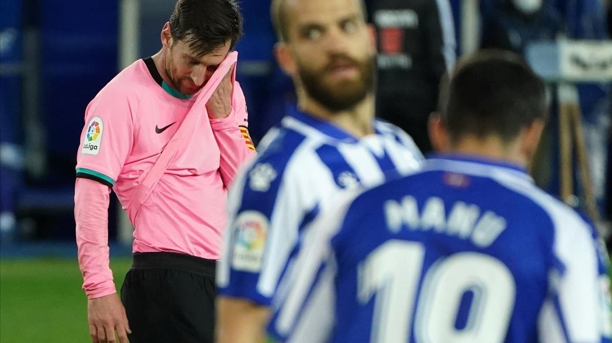 Manchester City prepara precontrato para Lionel Messi, así lo revela un diario inglés