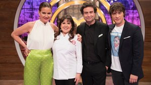 Loles León y el jurado de 'Masterchef Celebrity'.