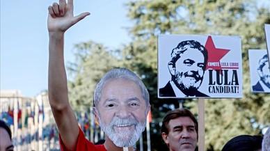 Lula presenta su candidatura a la presidencia de Brasil pero la justicia lo vetará