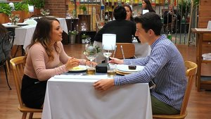 Mabe y Alejandro en 'First Dates'.