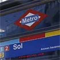 Entrada a l'estació de Sol del metro de Madrid.