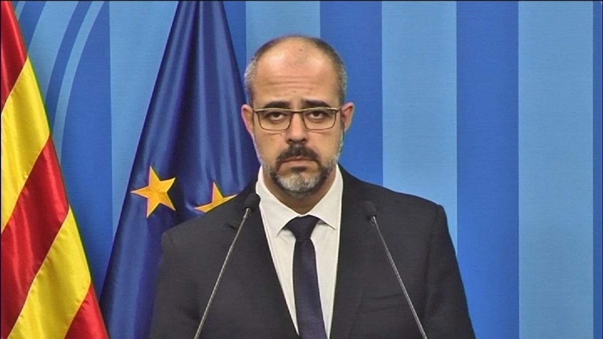 El conseller de Interior, Miquel Buch.