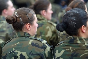 Imagen de archivo:Mujeres en el ejército.