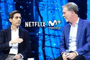 Netflix firma un acuerdo con Telefónica y estará disponible en Movistar+ a finales de 2018