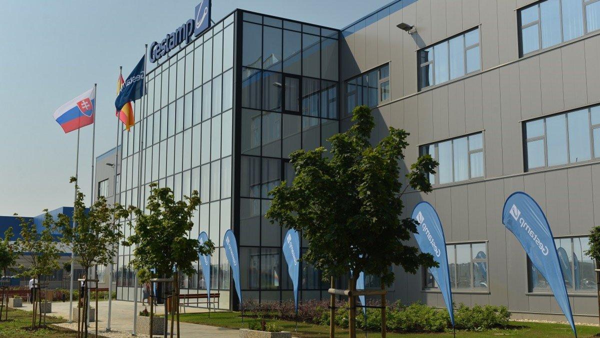 Nueva planta de Gestamp en Nitra, Eslovaquia.