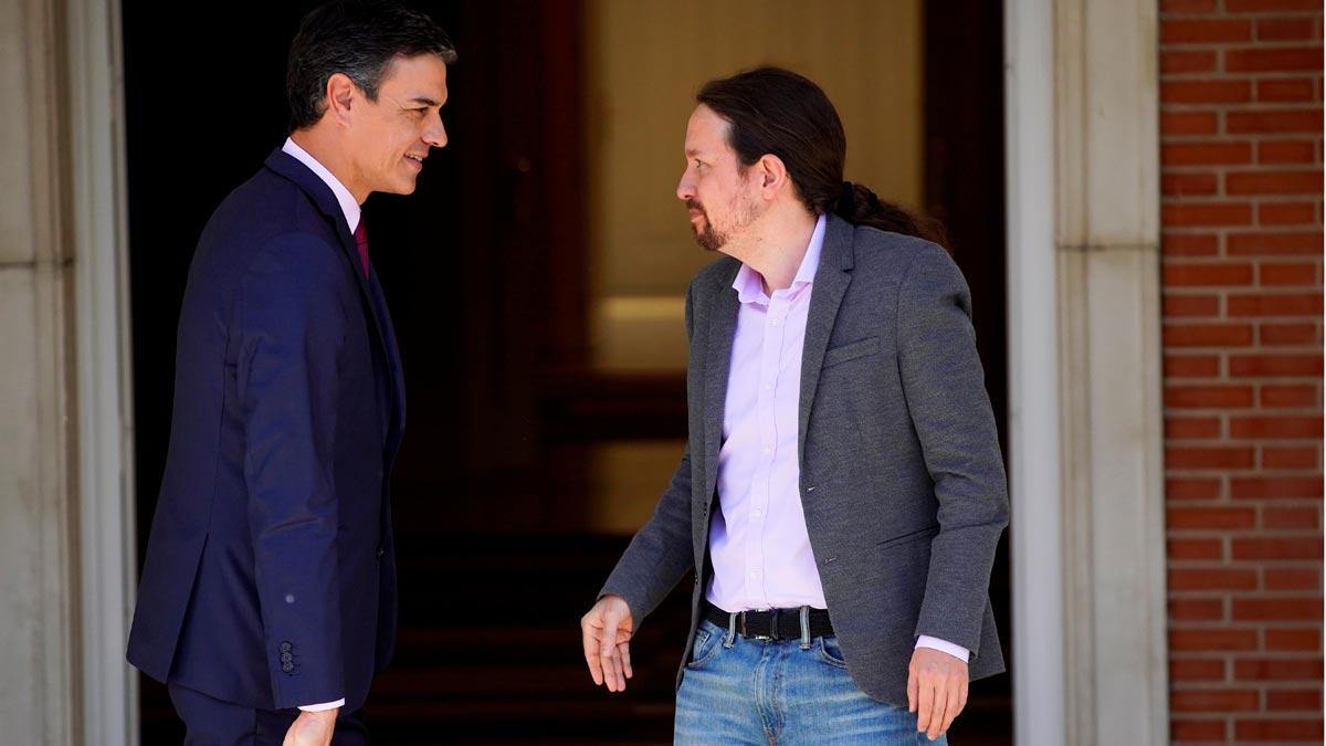 Nueva reunión de Pedro Sánchez y Pablo Iglesias cara a la investidura.