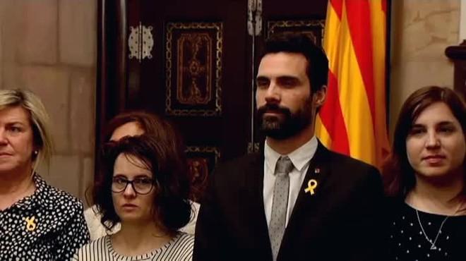 JxCat y ERC podrían presentar un acuerdo para investir a Jordi Sánchez como presidente.