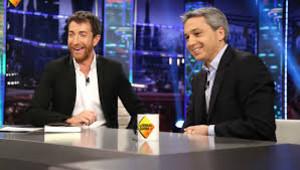 Pablo Motos y Vicente Vallés, en 'El hormiguero'.