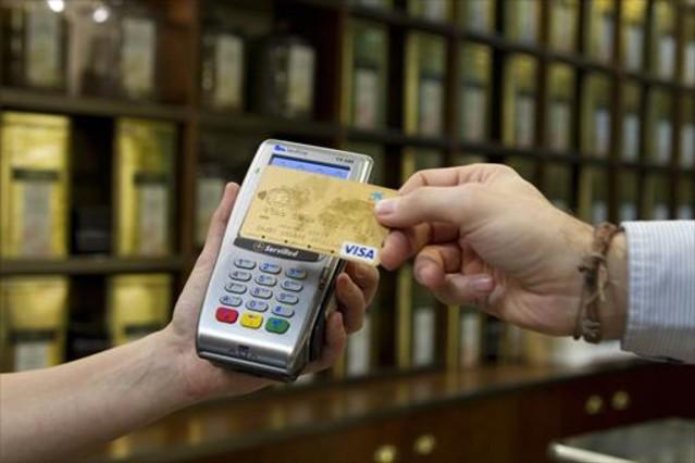 Pago con tarjeta de crédito.