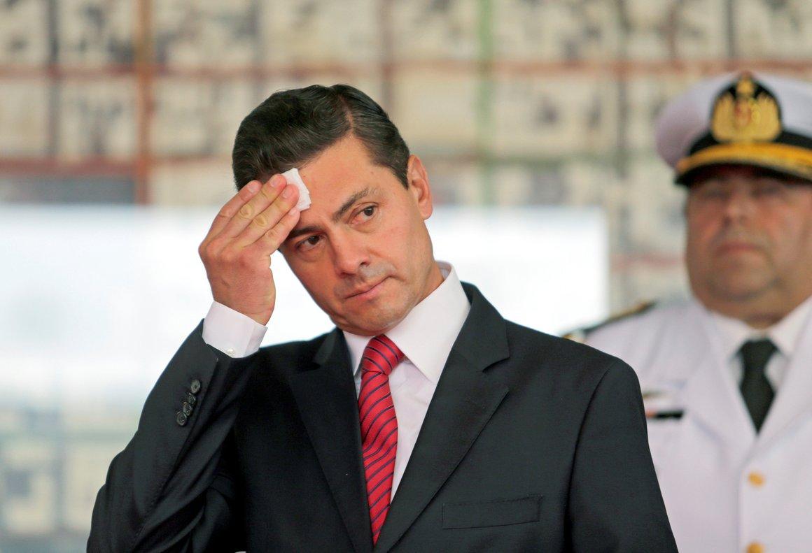 Expresidente de México, Enrique Peña Nieto.