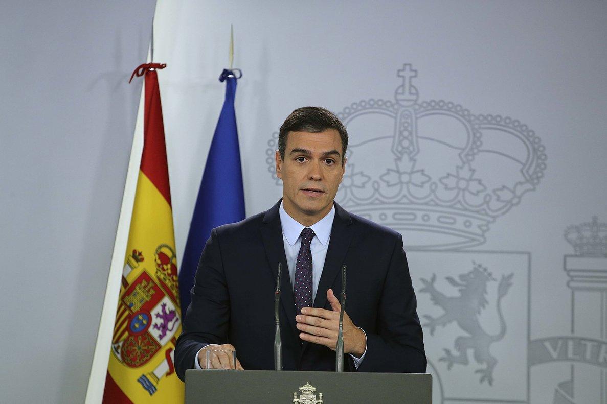 """Sánchez llama a abrir una """"nueva etapa"""" tras la sentencia y descarta el indulto"""