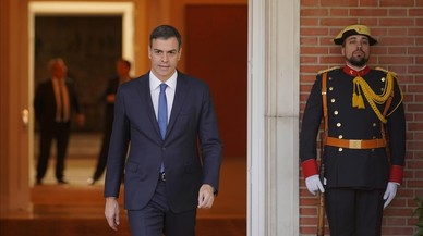 Sánchez se libera de sus cadenas con la llegada a la Moncloa
