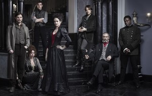 Los personajes protagonistas de'Penny Dreadful', en una imagen promocional de la serie.