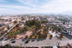 Imagen de la opción dos, ganadora del proceso participativo sobre el diseño de la plaza Espanya.