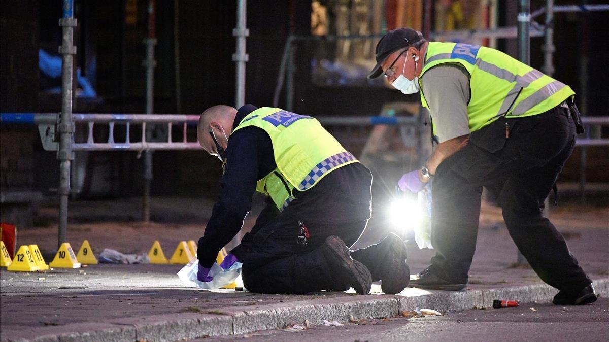 Un tiroteo a una multitud en Suecia dejó al menos cuatro heridos
