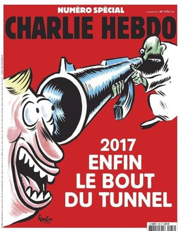 Portada especial en el segundo aniversario del atentado contra Charlie Hebdo.