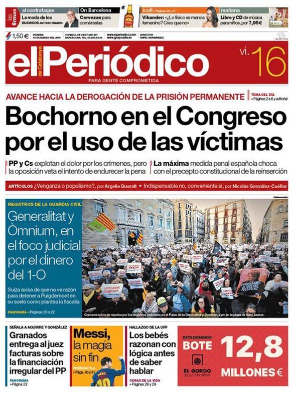 Del festival vengativo de la derecha española con delincuentes e indepes