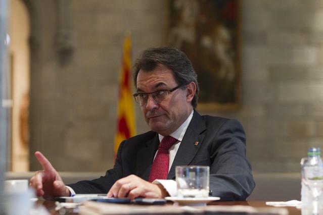 El presidente de la Generalitat, Artur Mas. ALBERT BERTRAN