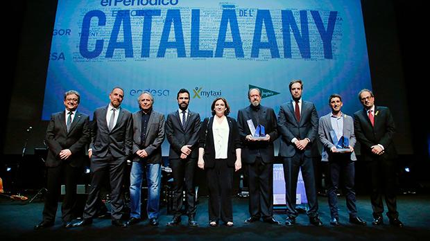 Resumen de la Gala del Català de Lany 2016-2017. Oriol Mitjà y Josep Mª Pou, los galardonados.