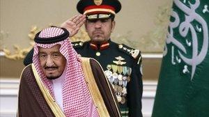 El Rey Salmán en una imagen de archivo.