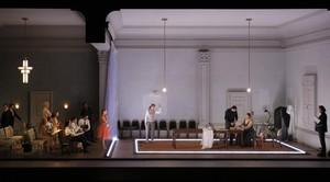 Una escena de Ariadne auf Naxos, en la nueva producción de Katie Mitchellestrenada en el Festival de Aix-en-Provence.