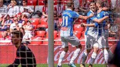 El Espanyol se despide a lo grande ante el Athletic