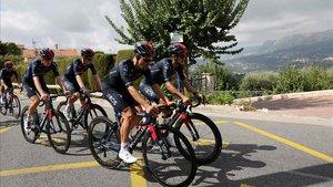 Un ral·li de Montecarlo en pla ciclista
