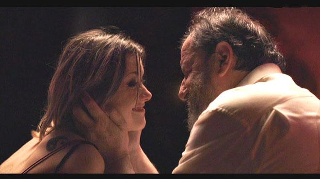 Wendy (Mima Riera) y Benet (Josep María Pou) en Nit i dia.