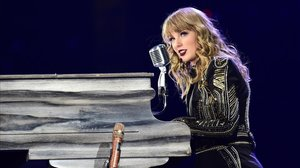 Taylor Swift, en uno de sus conciertos.