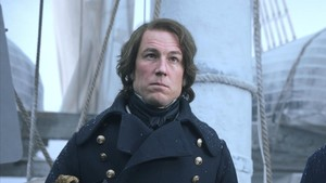 El actor Tobias Menzies, en la serie de la cadena de pago AMC The Terror.