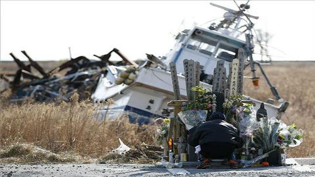Tercer aniversario del devastador tsunami de Japón
