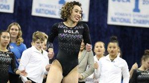 Katelyn Ohashi, la jove promesa de la gimnàstica que es va trencar per la pressió