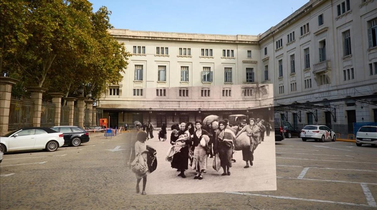 Una de las fotografías expuestas en el Docfield, festival qeu cuenta con la ayuda de la Fundació Banc Sabadell.