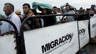 Un nuevo episodio del éxodo venezolano