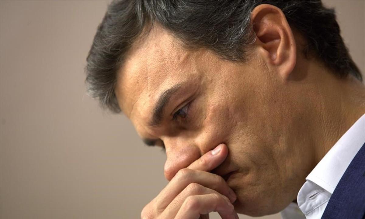 Pedro Sánchez, exsecretario general del PSOE.