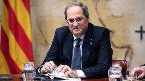 Torra sospesa portar al Parlament el veto al mediador