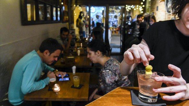 El Puigmartí Bar, en Gràcia.
