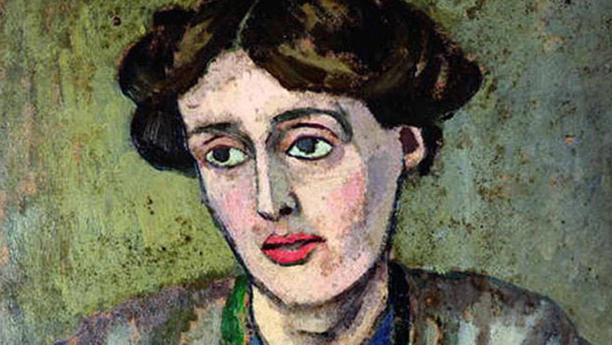 Virginia Woolf, vista por el artista inglés Roger Fry.