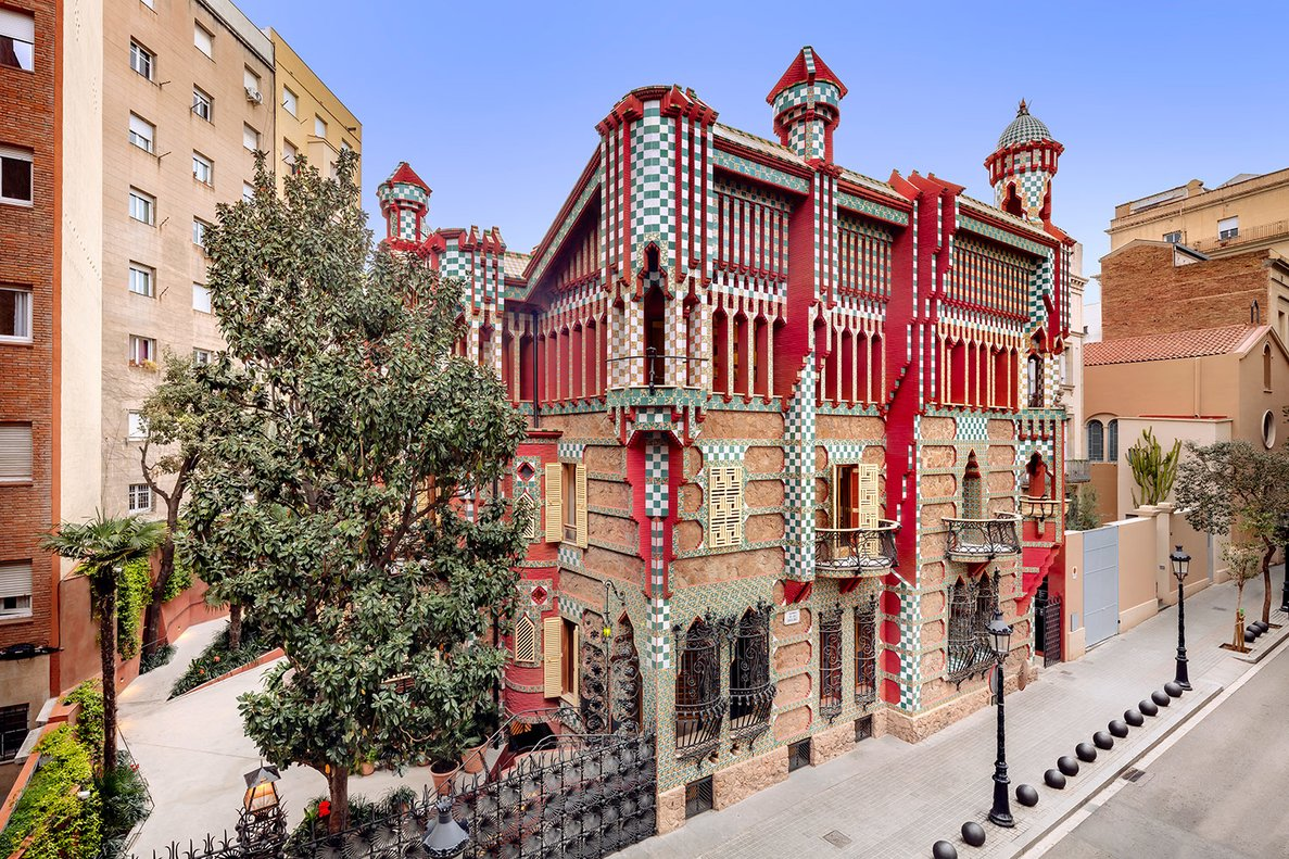 Vista general de Casa Vicens.