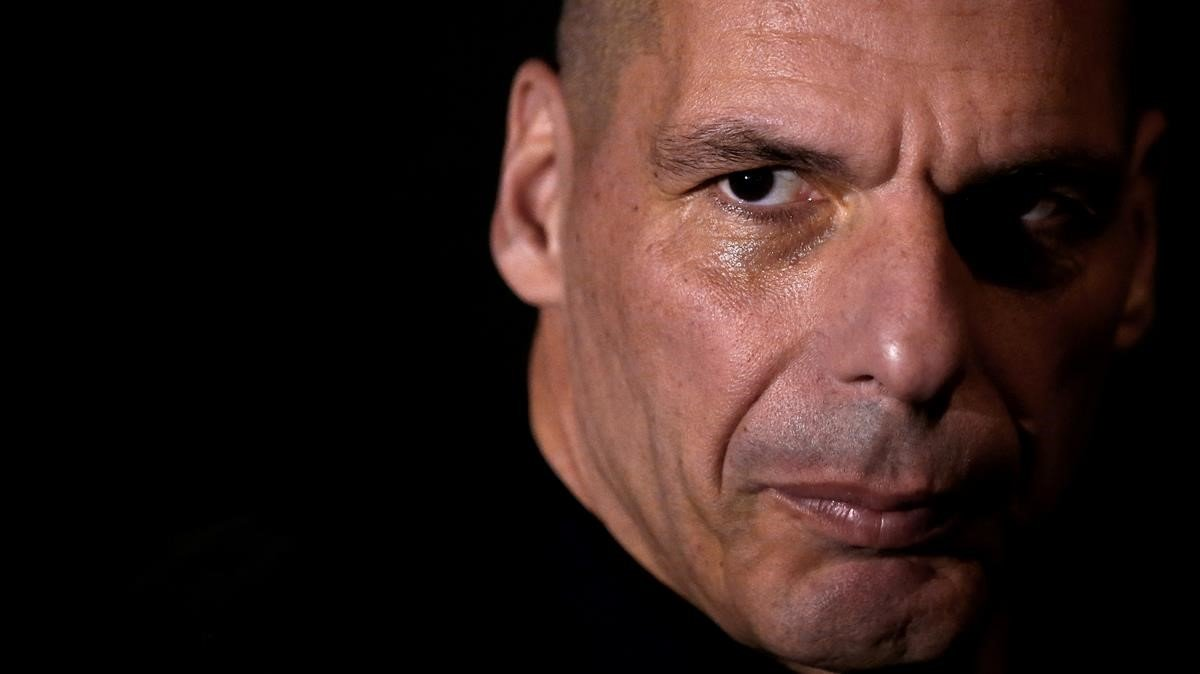 Yanis Varoufakis, fotografiado en Atenas en marzo del 2018