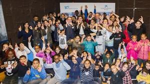 Celebración en el CaixaForum de Madrid del décimo aniversario del programa CaixaProinfancia.