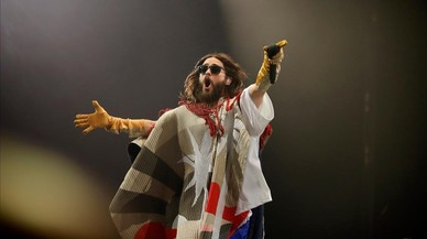 Thirty Seconds To Mars, el 'show' de Jared