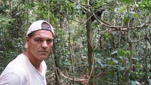 El controvetido herpetólogo, extenista y entrenador de tenis Frank Cuesta.