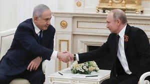 Putin amb prou feines condemna la decisió de Trump de 'cedir' el Golan a Israel